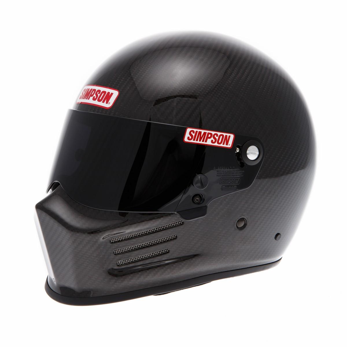 lebrauto sport casco simpson bandit carbon. Black Bedroom Furniture Sets. Home Design Ideas